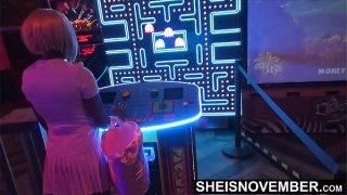 I'm Gonna Fuck My Step Sister Tonight When We Leave The Arcade, Innocent Ebony Msnovember Dumped By Her Boyfriend Decides To Give Into To Sex With Step Brother Video On Sheisnovember