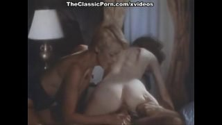 Juliet Anderson, Ron Jeremy, Veronica Hart in vintage xxx video